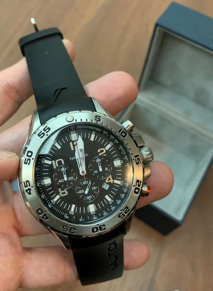 Relógio Nautica N14536g - Muito Bom Estado