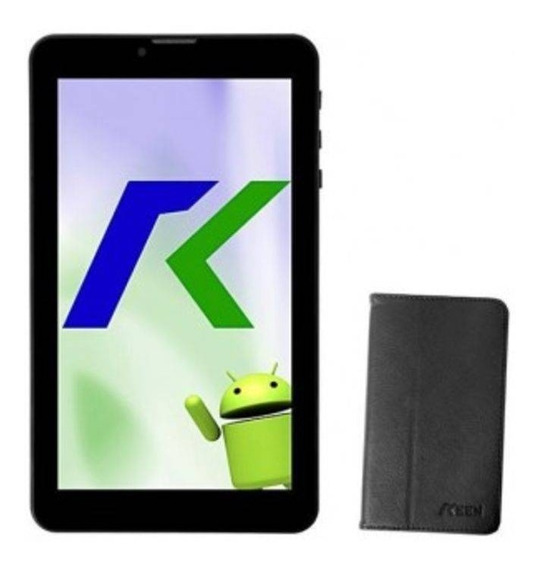 Tablet Keen A88 7 - 8gb 4g 4.4.2 Kitkat Preto C/ Capa