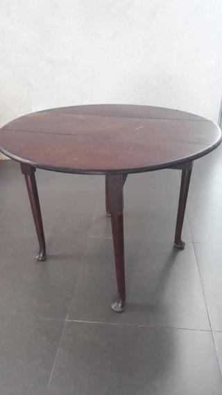 Mesa Antigua Inglesa. Siglo Xix Estilo Victoriano.