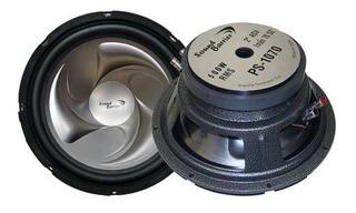 Parlante 10 500w Bobina De Aluminio Ps-1070 Soundbarrier