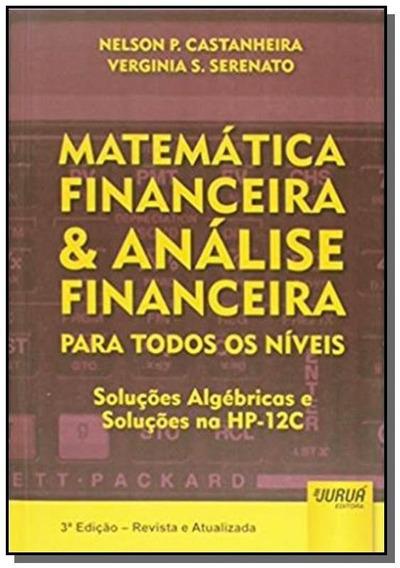 Matematica Financeira E Analise Financeira Para To