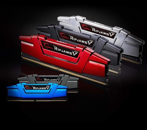 Memoria Ram 8gb G.skill (2 X 4gb) Ripjaws V Series Ddr4 Pc4-22400 2800mhz Intel Z170 Platform/intel X99 Platform Modelo