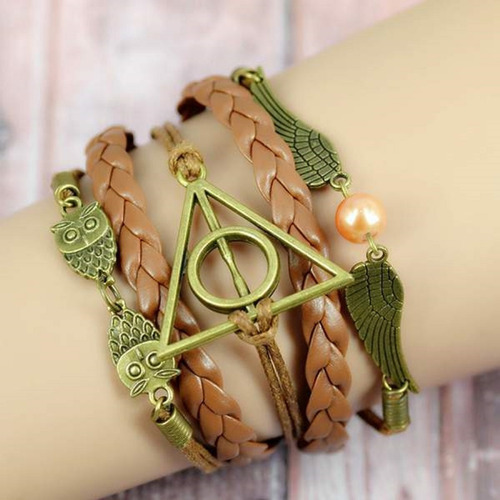 Harry Potter Pulsera Reliquias Muerte, Un Regalo Para Ti
