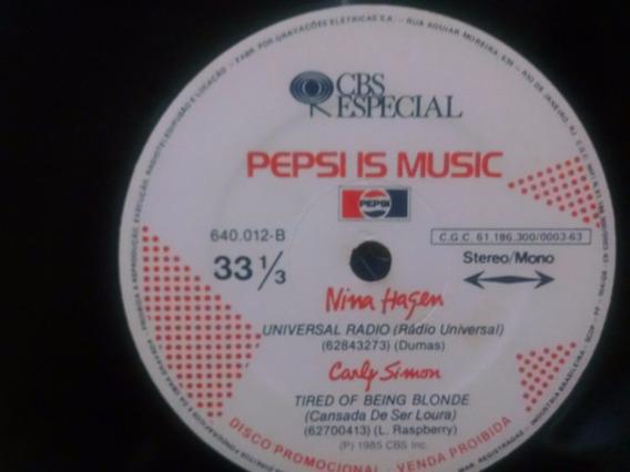 Compacto Pepsi Is Music 1985
