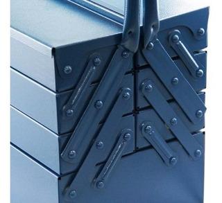 Caixa De Ferramentas Sanfonada Com 7 Gavetas Azul Fercar-n09