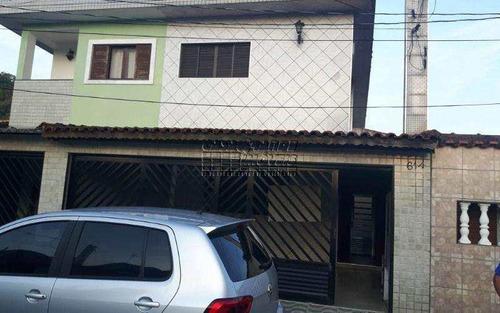 Imagem 1 de 15 de Sobrado Com 3 Dormitórios No Canto Do Forte - V5703