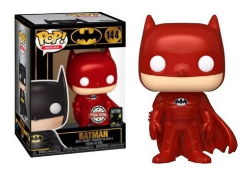 Imagen 1 de 2 de Funko Pop #144 Batman - Rojo