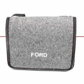 Bolsa De Ferramentas Carpete Grafite Pra Linha Ford Bordado