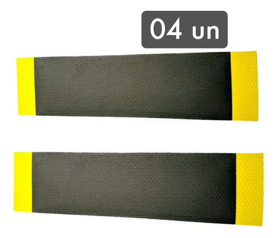 Kit 4 Protetores De Porta Manta Garagem Estacionamento 15mm