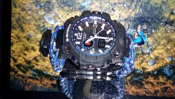 Relógio Pederneira Sobrevivência Shock Militar