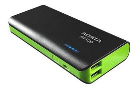 Adata - Batería Externa De 10000 Mah Negra