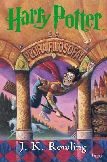 Livro Harry Potter E A Pedra Filosofal Vol. 1 - J. K Rowling