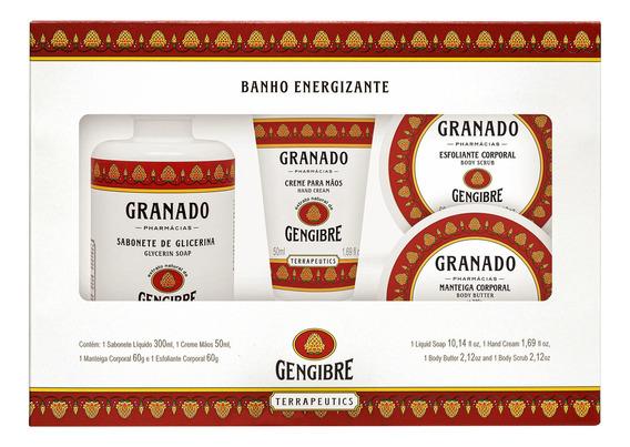 Kit Granado Banho Energizante (4 Produtos)