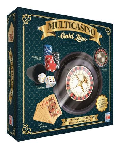 Imagen 1 de 4 de Juegos De Mesa Gold Multicasino 1191