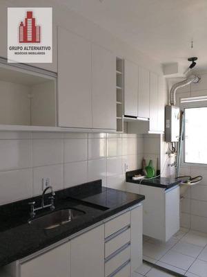 Apartamento Com 2 Dormitórios Para Alugar, 44 M² Por R$ 1.280/mês - Ponte Grande - Guarulhos/sp - Ap0987
