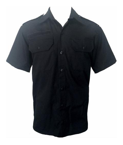 Gandola Camisa Rip Stop Manga Curta Tática Vigia Segurança