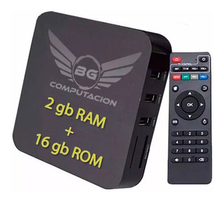 Convertidor Smart Tv Box Convertir Android Tv 2gb 16gb Envío