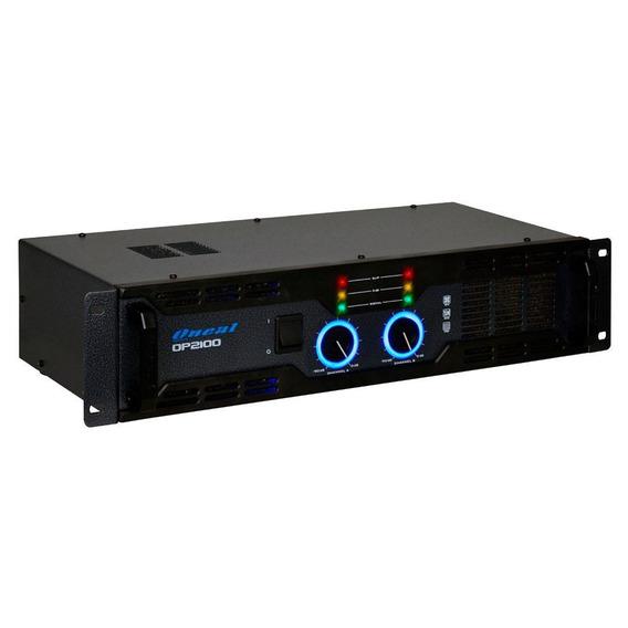 Amplificador De Potência Oneal Op 2100 2 Canais 290 Wrms
