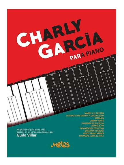 Metodo Charly Garcia Para Piano Libro Villar Guilo