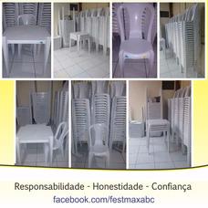 Aluguel Mesa Cadeira Plástica - Santo André- Mauá- Sbc- Scs