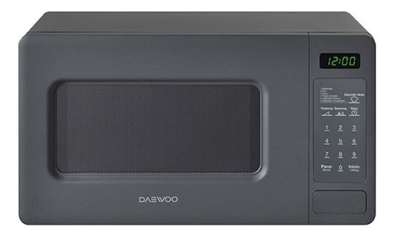 Microondas Daewoo KOR-667D gris 19.8L 110V