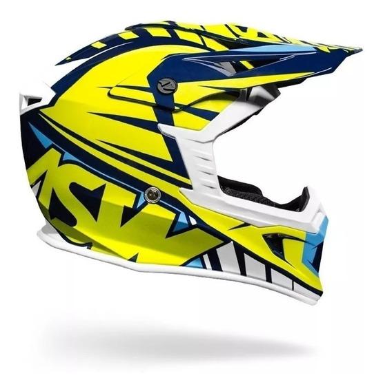 Capacete Asw Concept Motocross Trilha Enduro