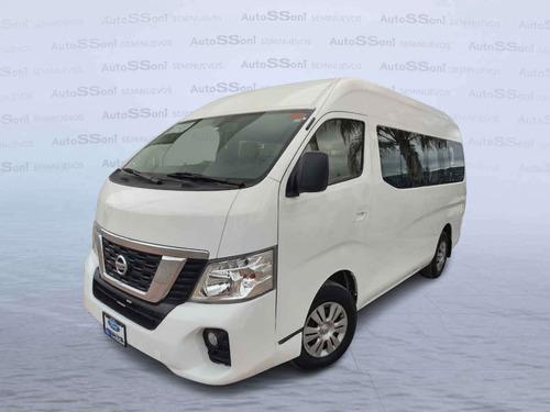 Imagen 1 de 15 de Nissan Urvan 2019 4p Amplia L4/2.5 Man 15/pas P/seg