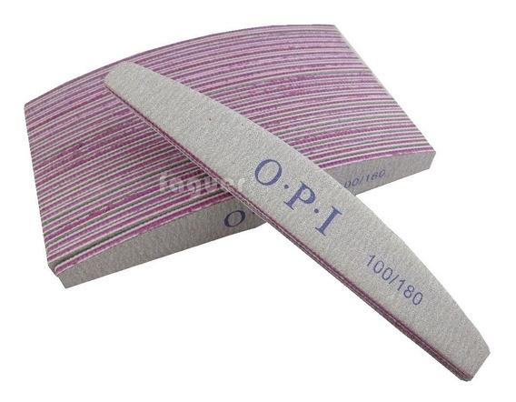 2 Limas Opi 100/180 Profesional Manicuria, Uñas Esculpidas