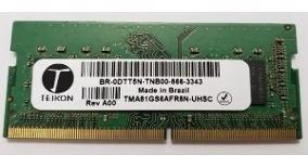 Memoria Teikon 8g Ddr4 2400 Not Br-0dtt5n Tma81gs6afr8n-uhsc