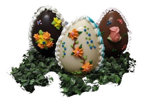 Huevo De Pascua Chocolate - N12 De 170 Grs - Blanco