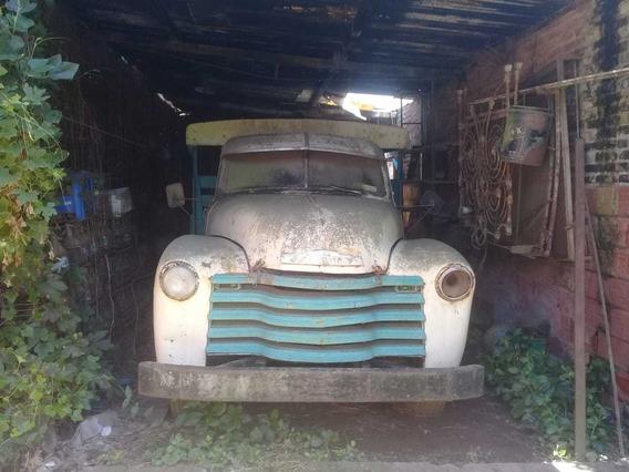 Camión Sodero Chevrolet Año 47 Sapo Original Tpea
