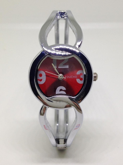 Relógio De Pulso Feminino Touch Red U03653 Webclock