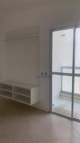 Apartamento Com 2 Dormitórios Para Alugar, 55 M² Por R$ 1.100,00/mês - Jardim Capitão - Sorocaba/sp - Ap0890