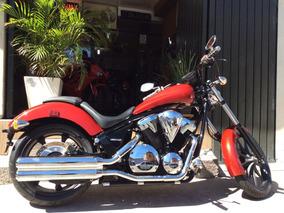 Honda Vt 1300cx Fury 2015h Harley Davidson Magnatriumph