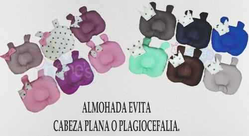 Almohadas Bebe Evita  Cabeza Plana O Plagiocefalia