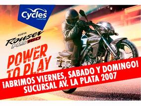 Bajaj Rouser Ns 160 Moto 0km El Mejor Precio En Cycles