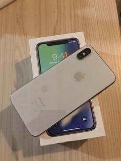 iPhone X 64gb Prata Seminovo