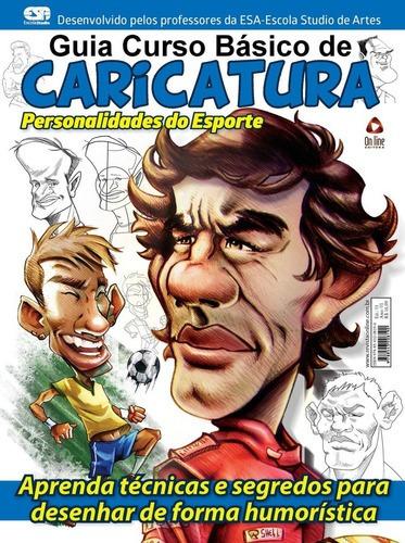 Imagem 1 de 1 de Livro Guia Curso Básico De Caricatura