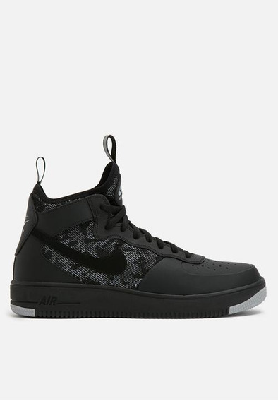 Nike Air Force 1 Ultra Force Negras Mid.