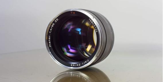 Zeiss Ze Planar 85mm 1:1.4