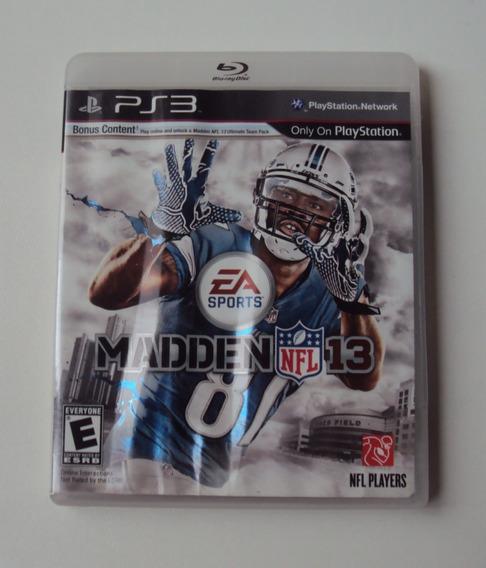 Madden 13 Original Para Playstation 3