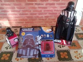 Casco Star Wars ! Darth Vader . En Su Blister Sin Abrir.