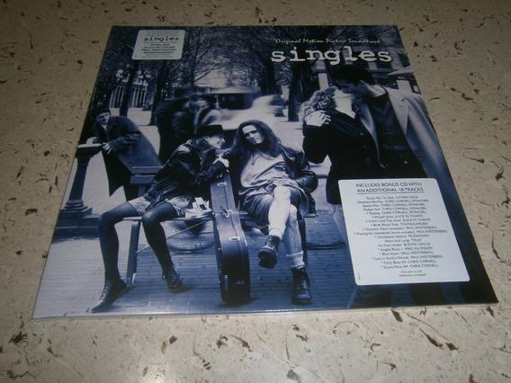 Singles Soundtrack Lp Importado Vida De Solteiro Pearl Jam
