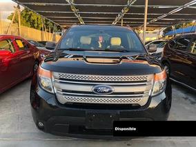 Ford Explorer Xlt Ecoboost 13 Negro