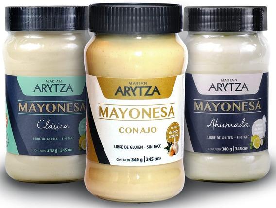 3x Mayonesa Natural Arytza. Variedades A Elección. Nuevas!!