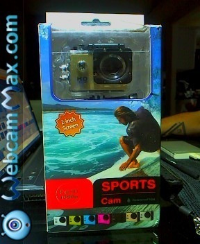 Go Pro Cam Sport Waterproof 30m Full Hd 1080p