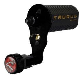 Maquina Rotativa Tatuagem Trestini Taurus Preta + Brinde