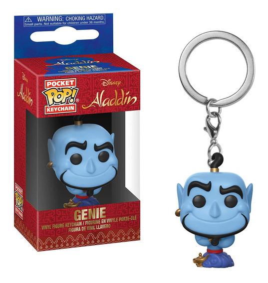 Llavero Funko Pop Aladdin Genio Disney Pelicula Pocket Juego