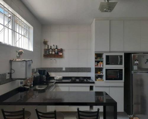 Sobrado Reformado - 3 Dorm - 2 Banheiros Completos - Area Gourmet - 2 Vagas -140m2 - V2201 - 33171273