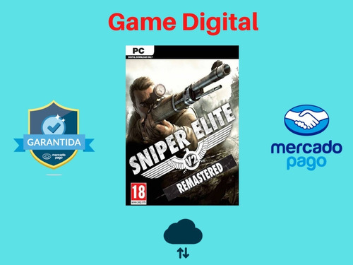 Sniper Elite V2 Remastered + Brinde Envio Digital Pc